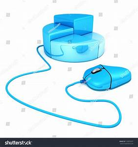Computer Mouse Connected To A Business Bar Chart Diagram Stock Photo 126839267   Shutterstock