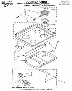 Whirlpool Electric Range Parts