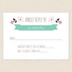 wedding response card wording alternative rsvp wording ideas crafty pie press