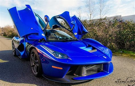 Unique Blue Laferrari Spotted In Washington