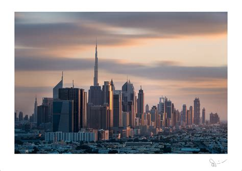 Dubai skyline #1 - Momentary Awe