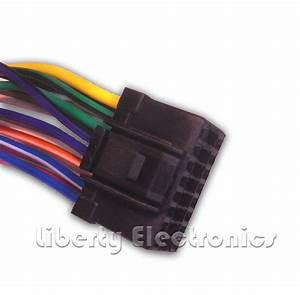 New 16 Pin Wire Harness For Alpine Cde  Cde  Cde