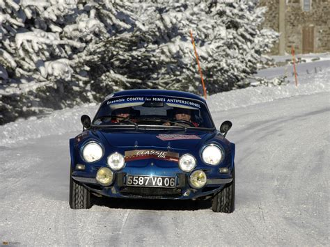 renault alpine a110 rally renault alpine a110 rally car wallpapers 1920x1440