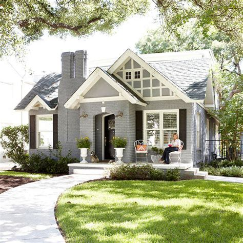 House Shows Just Beautiful Simple Can by House Styles Better Homes Gardens