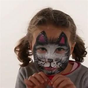 Maquillage Enfant Facile : maquillage chat vid o maquillage enfant facile ~ Melissatoandfro.com Idées de Décoration