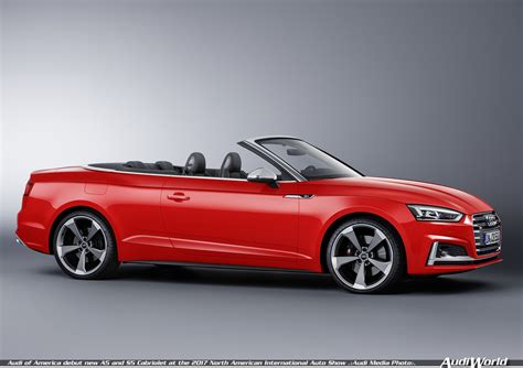 Audi America Will Debut The All New Cabriolet