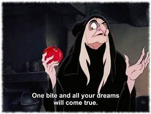 The Evil Queen And The Apple - Anita's Notebook