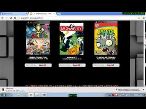 descargar gratuita psp ir juegos iso utorrent