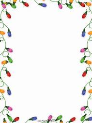free printable christmas borders clip art - Christmas Borders