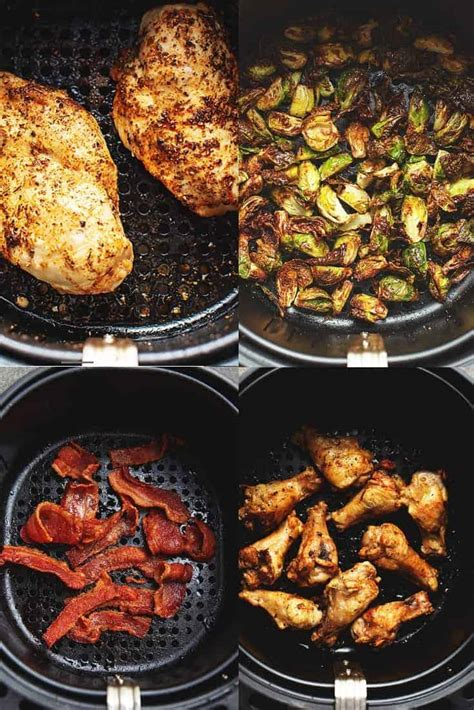 fryer air recipes dinner easy beginners low carb cook chicken wings cooking foods rezepte jennifer bacon sprouts jenniferbanz breast fryers