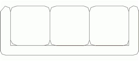 sofa 3 plazas dwg bloques autocad gratis de sof 225 de 3 plazas mod 4