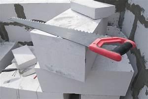 Scie A Beton : scie b ton cellulaire ooreka ~ Melissatoandfro.com Idées de Décoration