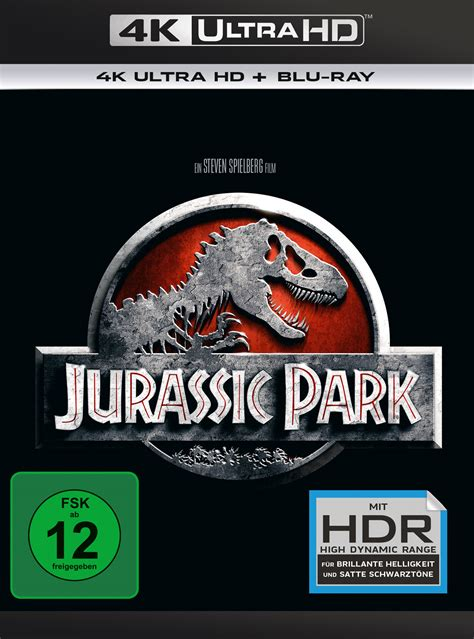 Jurassic Park Cover by Uhd Blu Ray Kritik Jurassic Park 4k Review Rezension
