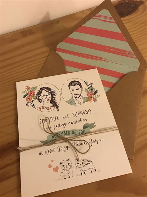 25 Super Creative Wedding Invites for your 2019 Shaadi