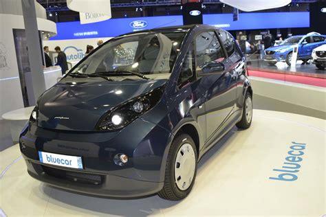 bluecar electric car scheme  launch  london