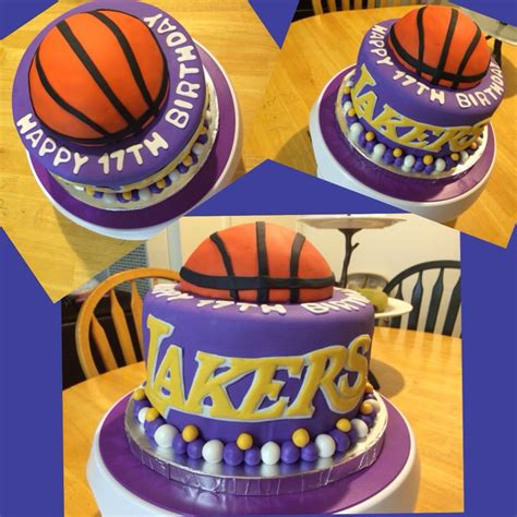 lakers birthday cake cakes   retirement party