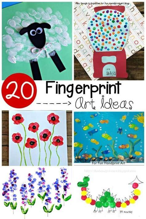 20 adorable fingerprint ideas playdough to plato 906 | 20 fingerprint art ideas for preschool