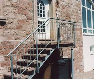 Treppengeländer Selber Bauen Stahl : gel nder gel nder verzinkt als treppengel nder an einer ~ Lizthompson.info Haus und Dekorationen