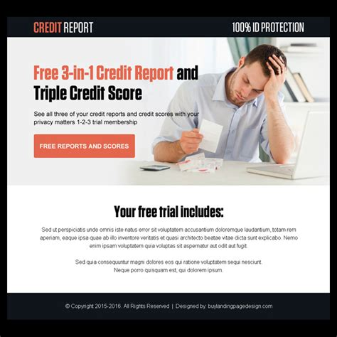 purchase credit report index page click on image for full size preview