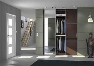 porte de placard coulissante recoupable vs sur mesure With exceptional la maison du dressing 5 placard pour une entree