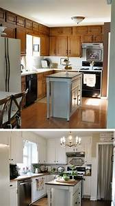 Before, And, After, 25, Budget, Friendly, Kitchen, Makeover, Ideas