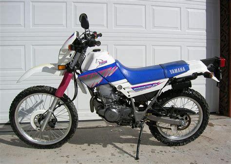 1992 Yamaha Dirt Bike Motorcycle