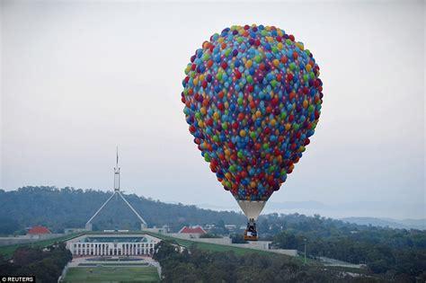 The hot air balloon inspired by Pixar's Oscar-winning ...