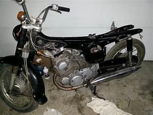 Honda Cd175 First Bike  First Project