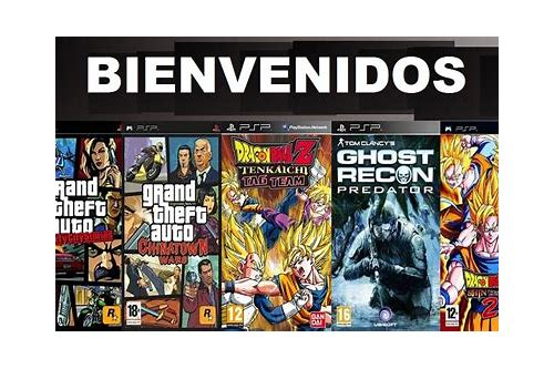 psp juegos download iso
