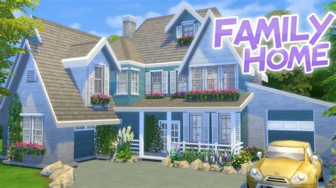 Family Home by Big Family Home The Sims 4 Speed Build Traditional House