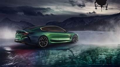 Bmw M8 Coupe Side Gran Concept 4k