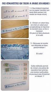 Faire Ses étiquettes : faire soi m me ses tiquettes en tissu facile bricolage enfant tiquettes en tissu ~ Melissatoandfro.com Idées de Décoration