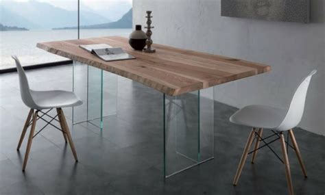 bureau table verre bureau design bois verre mzaol com