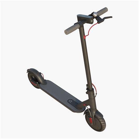 mi electric scooter xiaomi mi electric scooter 3d turbosquid 1377367