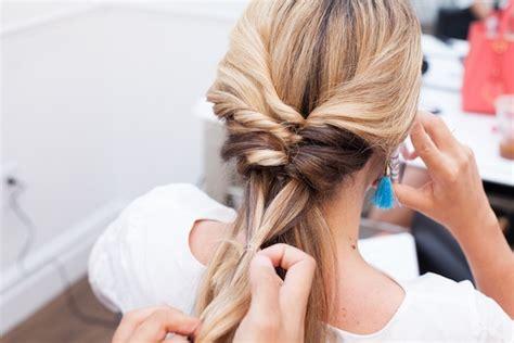 topsy tail braid hair tutorial  stripe