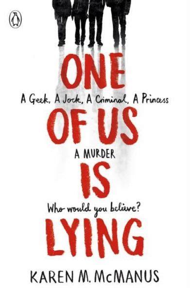 One Of Us Is Lying Von Karen Mcmanus Englisches Buch