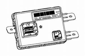 Chrysler 200 Module  Used For  A  C And Heater   Instrument
