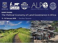 NELGA Short Course Training – Political Economy of Land