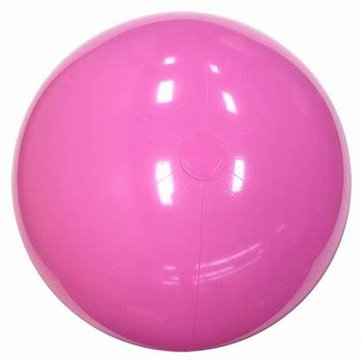 Beach Balls Pink Solid Inch Beachballs Main