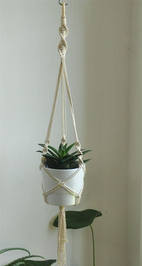 Makramee Blumenel Diy by 50 Ideas To Make Macrame Plant Hanger Diy Macram 233 Plant