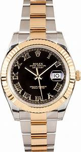 Rolex Datejust Ii Black Roman Dial 116333
