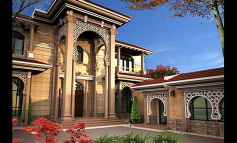 villa khaled exterior design  doha qatar