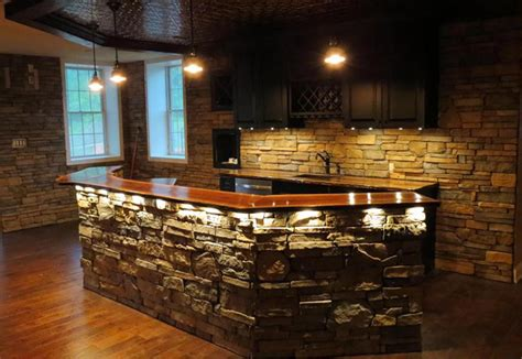 Basement Kitchen Bar Ideas - portfolio custom spaces contracting carpentry