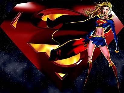 Supergirl Super Wallpapers Comics Superhero Logos Version