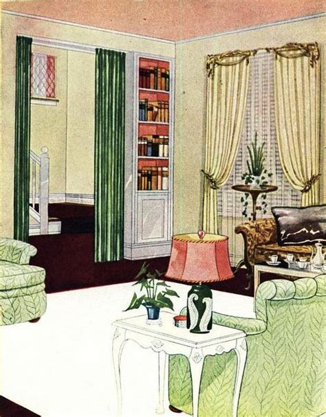 1000+ Ideas About 1940s Living Room On Pinterest  1940s