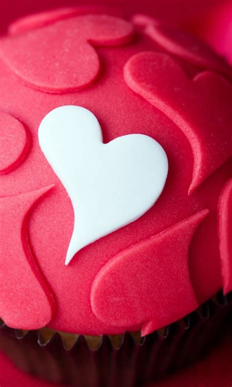 wallpaper cupcake love heart  love  wallpaper