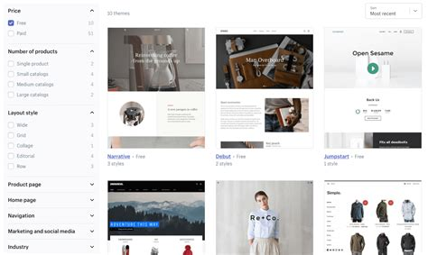 shopify website templates bigcommerce vs shopify we ve compared them in 14 rounds