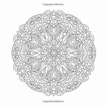 Extreme Mandala Coloring Cool Angie Pages Volume