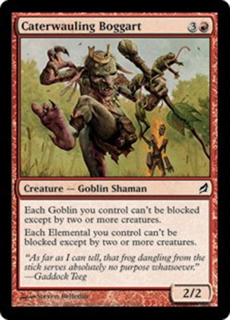 goblin charbelcher deck modern weenie token goblin customized modern deck mtg magic ebay