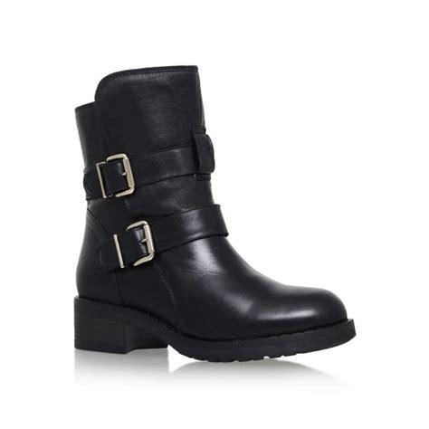 Richmond Black Low Heel Ankle Boots By Kurt Geiger London